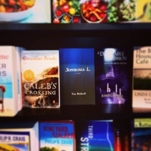 Tim Bridwell stumbled upon his novel, Sophronia L., in Bunch of Grapes Bookstore. He didn't even know they carried it – a welcome surprise for May's Folded Word Lab host.