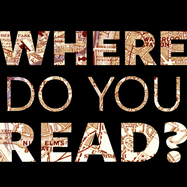 Graphic asking where do you read