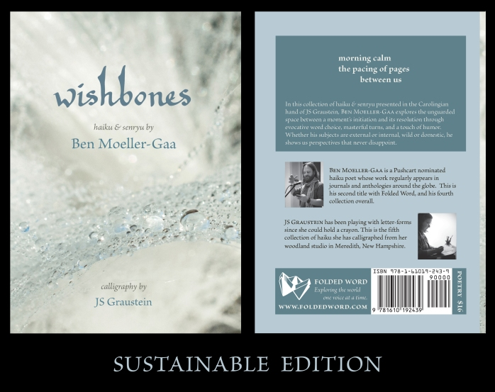 front and back cover of Wishbones