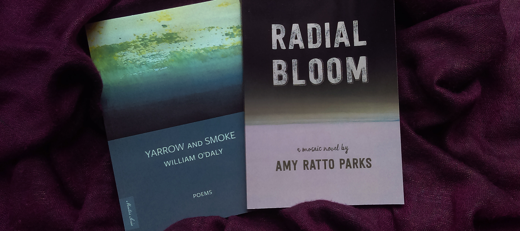 cover of Radial Bloom and Yarrow and Smoke